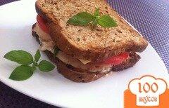 Фото рецепта: «Сэндвич с лососем»