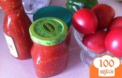 Фото рецепта: «Томатный острый соус»