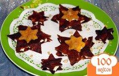 """Фото рецепта: «""""Звездный"""" десерт + фруктовый салат»"""