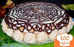 Фото рецепта: «Торт бисквитный с повидлом»