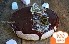 Фото рецепта: «Торт с яблочным кремом»