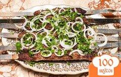 Фото рецепта: «Люля кебаб на мангале»