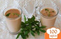 Фото рецепта: «Шоколадно-мятный чай»