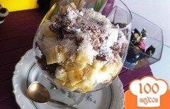 Фото рецепта: «Шоколадный трайфл с бананом»