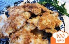 Фото рецепта: «Ароматное жаренное филе окуня»