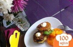 Фото рецепта: «Кабачок фаршированный мясом»