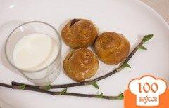 Фото рецепта: «Мини-булочки с изюмом»
