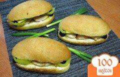 Фото рецепта: «Сэндвичи с курицей и перцем»
