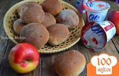 Фото рецепта: «Булочки на фруктовом йогурте»