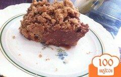 Фото рецепта: «Шоколадный бисквит с пудингом»