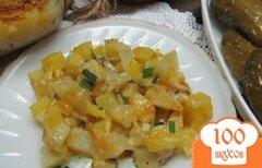 Фото рецепта: «Картофель гратен с соусом песто»