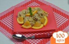 Фото рецепта: «Овсяная каша с тыквой в микроволновой печи»