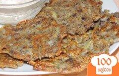 Фото рецепта: «Картофельные драники с грибами»