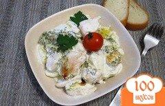 Фото рецепта: «Запеканка с картофелем и куриным филе»