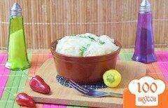 Фото рецепта: «Цветная капуста и брокколи под острым соусом из перцев»