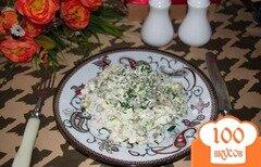 Фото рецепта: «Салат с индейкой и грибами»
