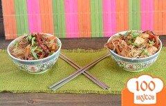 Фото рецепта: «Фунчоза с овощами»