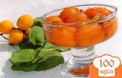 Фото рецепта: «Варенье из абрикос,апельсина,лимона и грецких орехов»