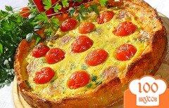 Фото рецепта: «Киш на овощной основе»