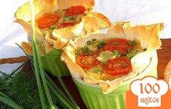 Фото рецепта: «Запеченный овощной паштет с грибами в лаваше»