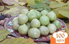Фото рецепта: «Зелёные помидоры солёные»