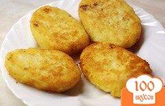 Фото рецепта: «Картофельные котлеты с курицей»