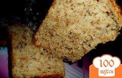 Фото рецепта: «Ароматный гречнево-овсяный хлеб»