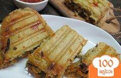 Фото рецепта: «Сэндвич с печенью»