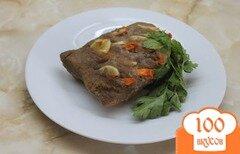Фото рецепта: «Буженина из свиного балыка в медово - горчичном маринаде»