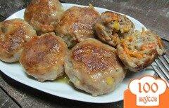 Фото рецепта: «Яркие котлеты из фарша свинины и овощей»