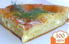 Фото рецепта: «Заливной капустный пирог»
