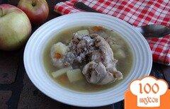 Фото рецепта: «Суп с кроликом в мультиварке»