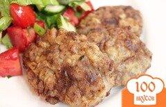 Фото рецепта: «Мясные котлеты с кабачками»