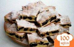 Фото рецепта: «Пирог с черносливом»