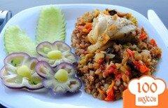 Фото рецепта: «Гречка с овощами и курицей»