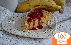 Фото рецепта: «Пирог с бананами»