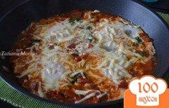 Фото рецепта: «Яичница в томатном соусе»