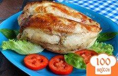 Фото рецепта: «Куриная грудка в маринаде из киви»