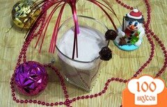 Фото рецепта: «Молочно-медовый коктейль»