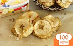 """Фото рецепта: «Овсяное печенье """"Яблочко""""»"""