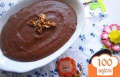 Фото рецепта: «Шоколадная манная каша»