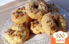 Фото рецепта: «Песочное печенье с орехами»