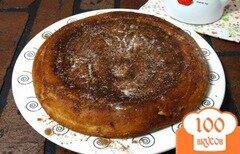 Фото рецепта: «Пирог с фруктовым пюре»