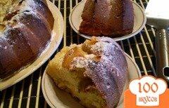 Фото рецепта: «Медовый кекс с грушами»