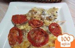 Фото рецепта: «Запеканка из пшенной каши с мясом грибами и цветной капусты»