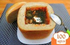 Фото рецепта: «Пряный хлебный горшочек для супа»