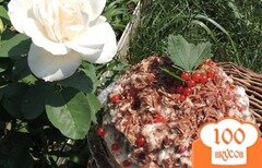 Фото рецепта: «Торт 3 ягодки»