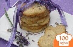 Фото рецепта: «Лимонное печенье с лавандой»