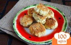 Фото рецепта: «Рисовые котлеты с куриным филе»
