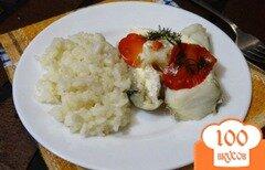 Фото рецепта: «Зубатка с рисом в мультиварке»